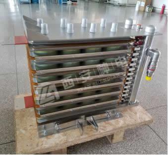 Water-cooled resistor