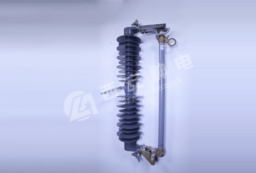 High voltage drop-out fuse
