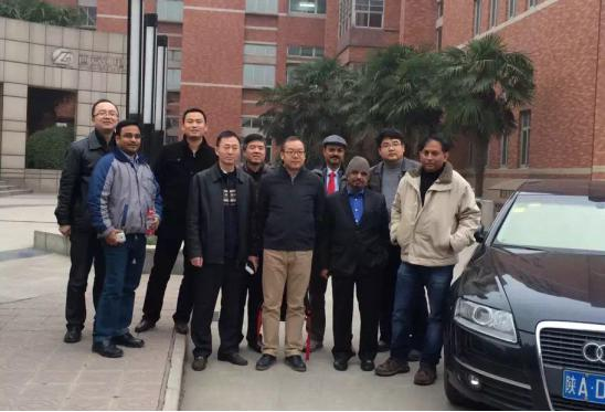 In 2016, expert panel of Indian State Power Grid visited Xi'an Shendian for investigation and exchange.